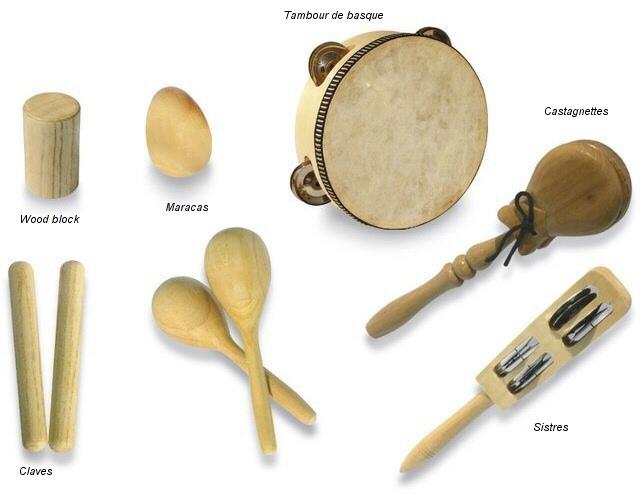 Top Les familles d'instruments - Les percussions IN94